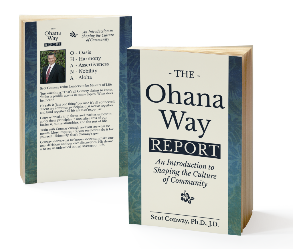 Ohana Way Report (the 60 page book)